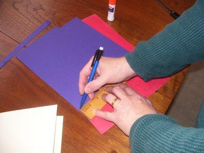 measure paper ribbons
