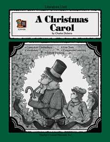 A Christmas Carol literature unit
