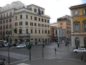 Italian street corner