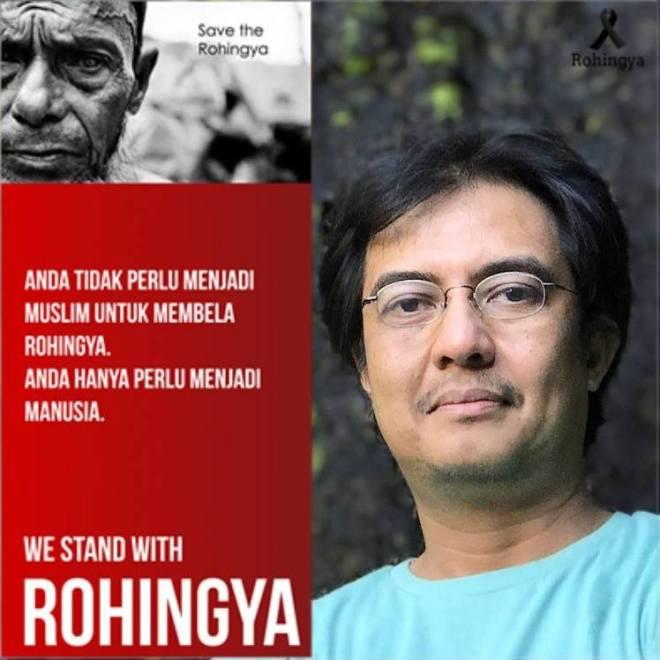 We stand with Rohingya
