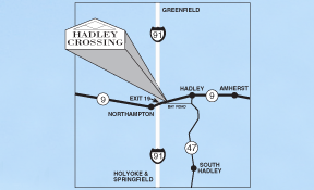 Free Parking at Hadley Crossing