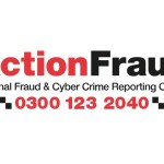 Action Fraud logo telephone 0300 123 2040