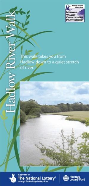 Hadlow River Walk leaflet