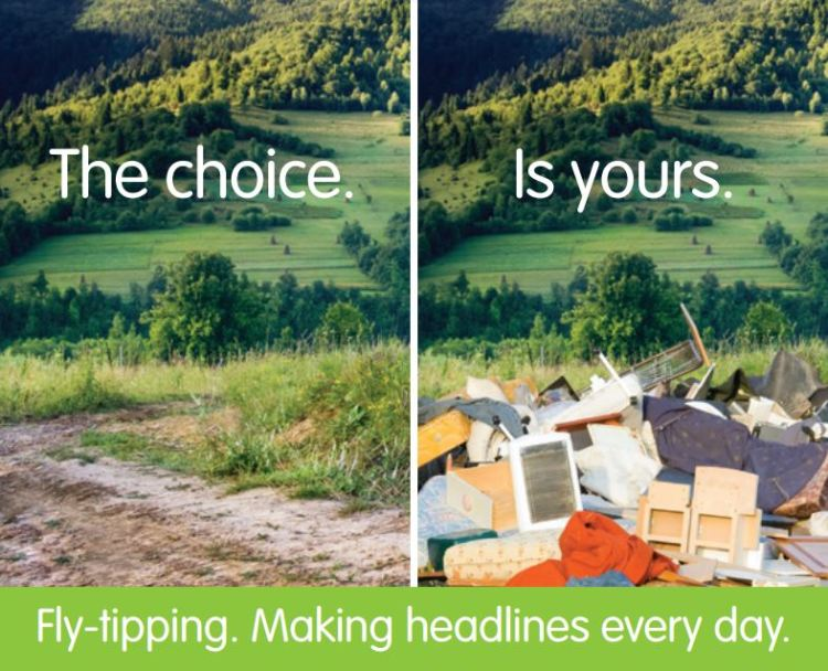 Flytipping example