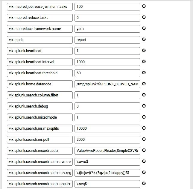 Hive Provider Configuration 3