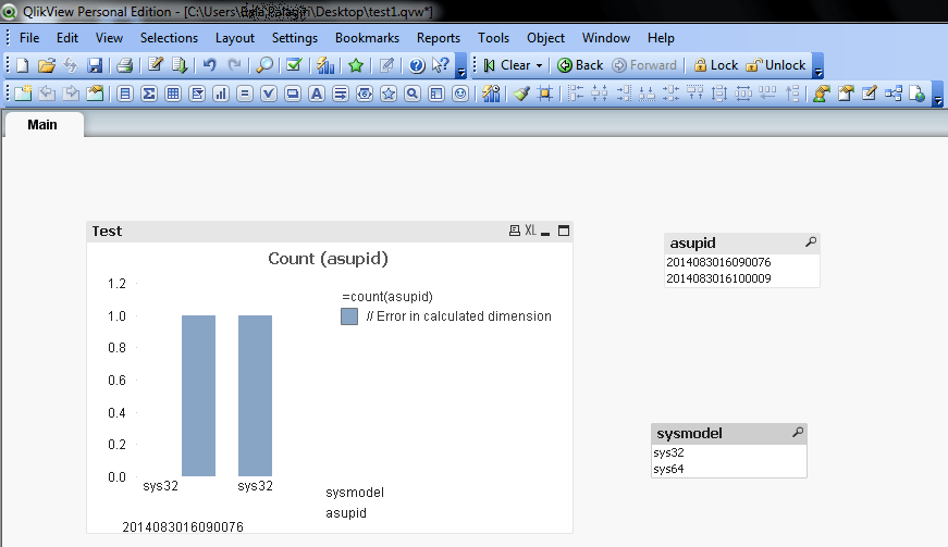 Bar charts in qlikview