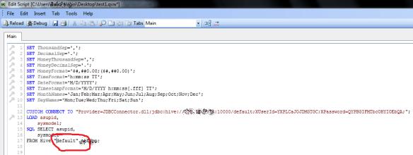 Edit database name