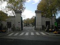 Entrée principale Cimetière Montparnasse