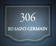 Signalétique de portes de chambres - New Roblin, Paris