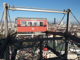 Blick über die Donau City.