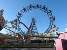 Das Riesenrad.