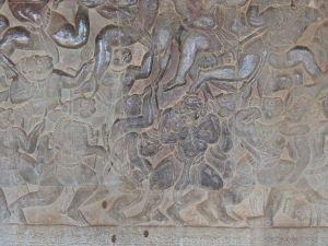 Schlacht aus dem Ramayana-Epos - die Affenarmee