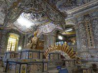 Im Innern des Mausoleums von Khai Dinh