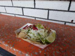 Unwiderstehliches Taco an der Bowery