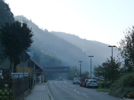 Grenzübergang in Schmilka