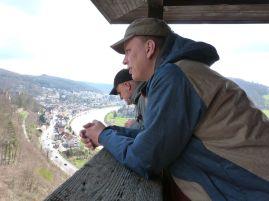 Auf dem Turm der Hinterburg
