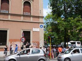 Rome invaded beim Vatikan!