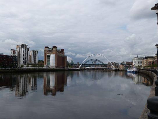 Newcastle mit seinen Brücken
