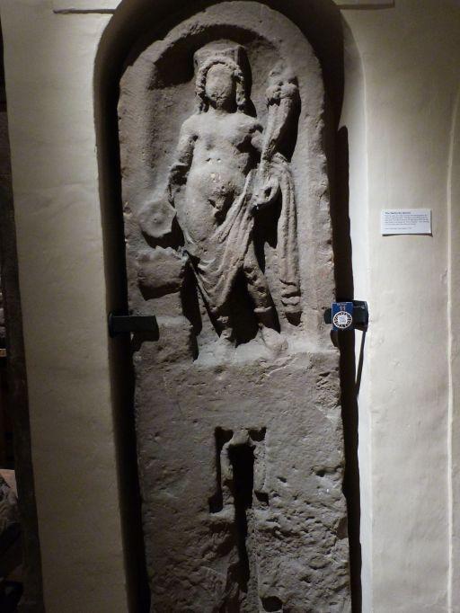 Stele mit Genius im Tullie House Museum