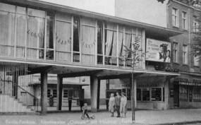 Odeum-Lichtspiele mit Milchbar Esplanade, ca. 1960