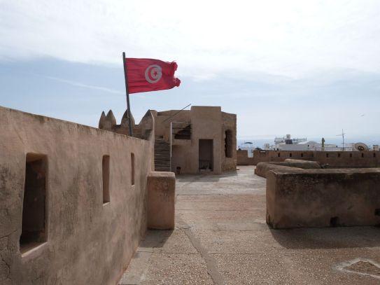 Auf der Kasbah von Hammamet