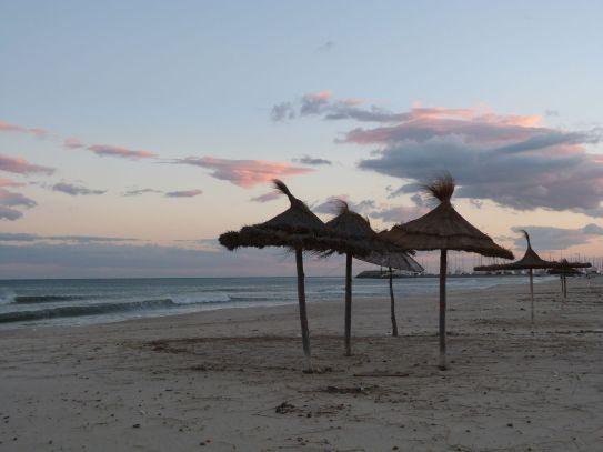 Am Strand von Yasmine