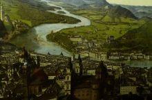 Und so klein war Salzburg noch 1829...