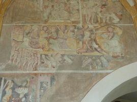 Jüngstes Gericht in der neuzeitlichen Kirche von Teurnia