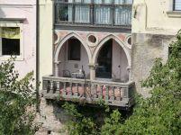 So einen Balkon über dem Natisone hätte ich auch gerne!