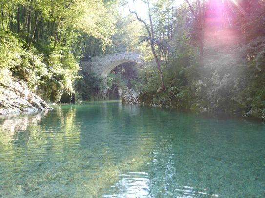 Napoelonbrücke über die Nadiža