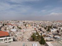 Blick vom Turm der Johanneskirche auf Madaba