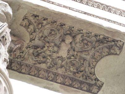 Soffitte des Venus-Genetrix-Tempels