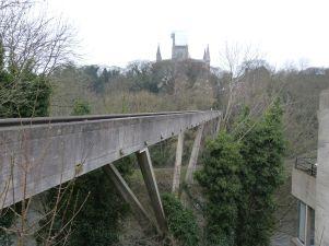 Die Kingsgate Bridge führt zur Kathedrale