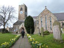 Die Kirche von Corbridge