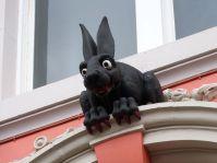 """""""Vampire Rabbit"""" hinter der Kathedrale von Newcastle"""