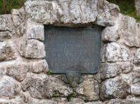 Detail des Brunnens auf dem Salzberg
