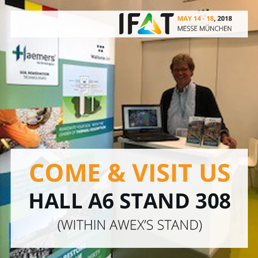 IFAT2018 with haemers technologies