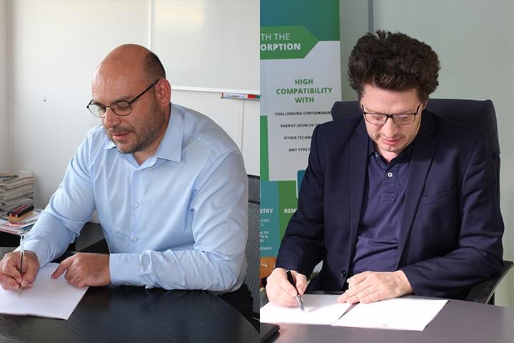 Biogénie and Haemers Technologies Signature