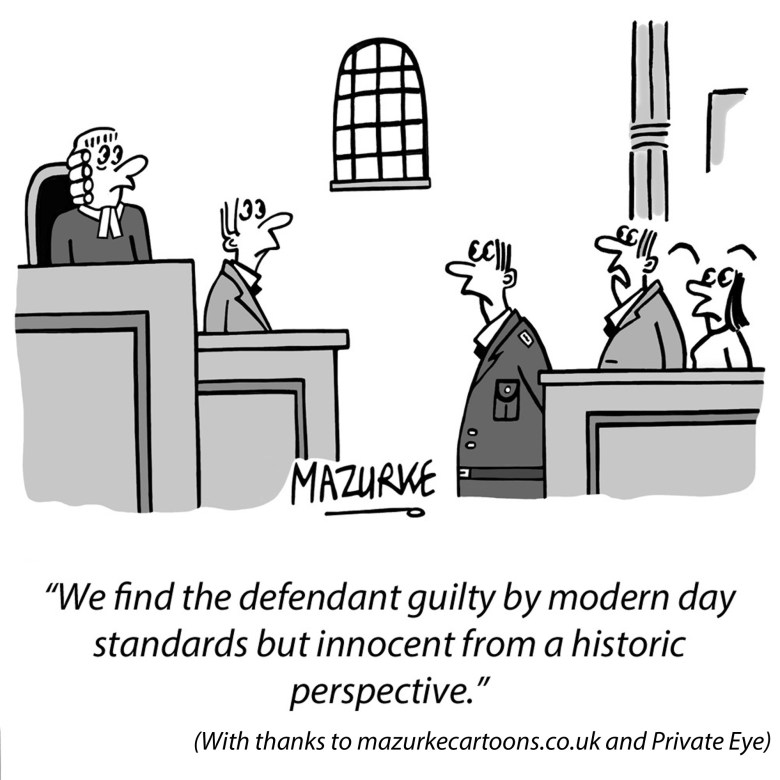 guilty and innocent cartoon