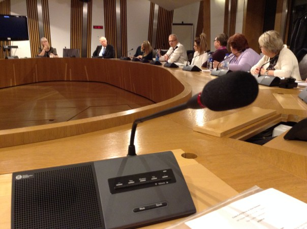 There was a good turnout from patient groups at the Cross Party Group on Rare Diseases.