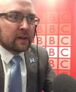 Dan on BBC Radio Scotland 30.04.2019 cropped