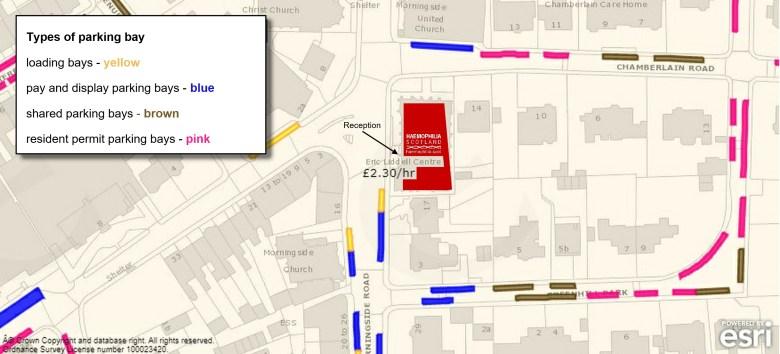 ELC Parking Map