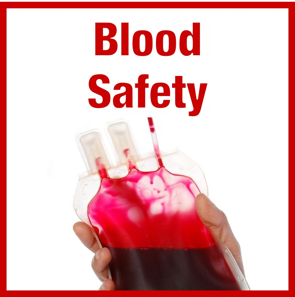 Information about blood safety precautions taken in response to coronavirus.