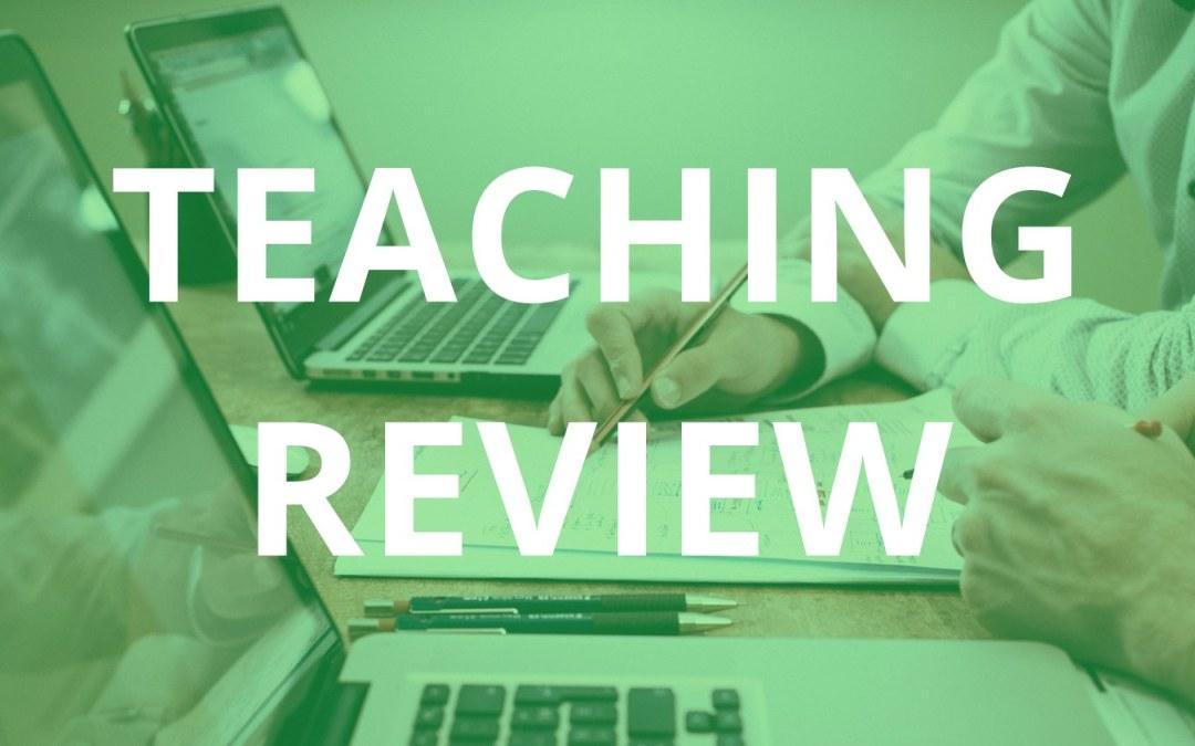 Teaching review