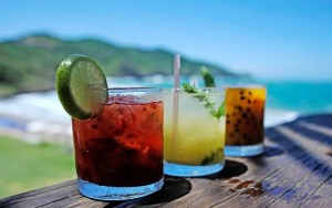Enjoy the world famous Caipirinha in different flavors