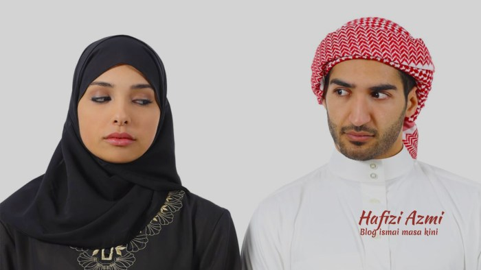 Istri cemburu kepada suami