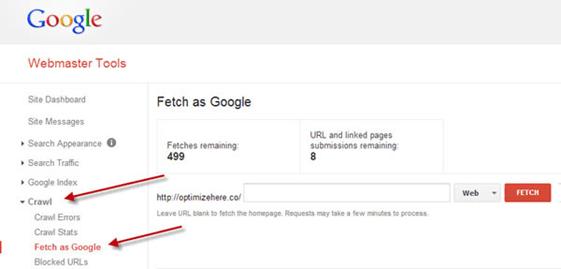Hafiz Muhammad Ali-Technical SEO Fetch as Google