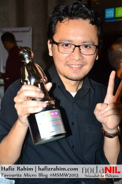 HafizRahim MSMW Best Micro Blog 2013