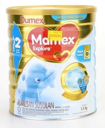 Dumex Mamex Explore