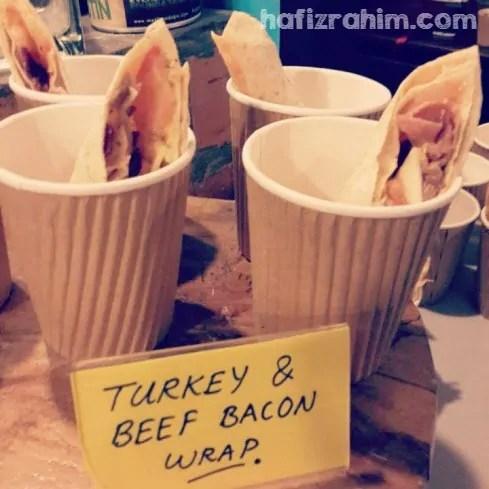 Turkey & Beef Bacon Wrap